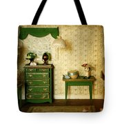 Miniature Hat Room Tote Bag