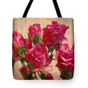 Miniature Roses Tote Bag