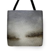 Minimalist Abstract Landscape Original Painting Tote Bag