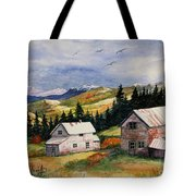 Mining Days Over Tote Bag