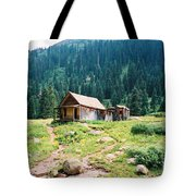 Mining House Tote Bag