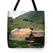 Mining In Anamas Forks Tote Bag