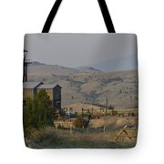 Mining In Butte Tote Bag