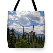 Mining Plant Fractal Tote Bag