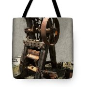 Mining Portable Stamp Mill Tote Bag by Daniel Hagerman