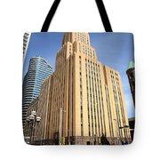 Minneapolis Skyscrapers Tote Bag
