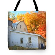 Minnesota Barn Tote Bag