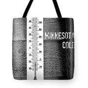 Minnesota Cold Tote Bag