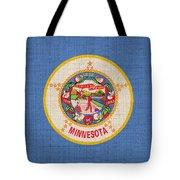 Minnesota State Flag Tote Bag by Pixel Chimp