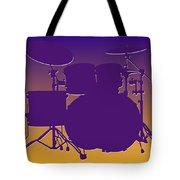 Minnesota Vikings Drum Set Tote Bag