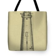 Minot's Ledge Lighthouse Tote Bag