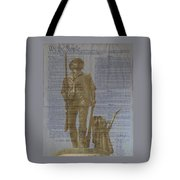 Minuteman Constitution Tote Bag