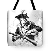 Minutemen Soldier Tote Bag