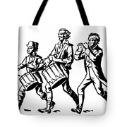 Minutemen: Spirit Of 1776 Tote Bag