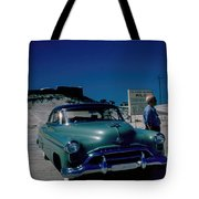 Miracle Mile Oldsmobile Tote Bag
