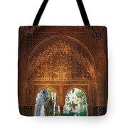 Mirador De Lindaraja La Alhambra Tote Bag