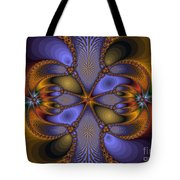 Mirror Butterfly Tote Bag