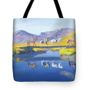 Mirror In The Cairngorms Tote Bag