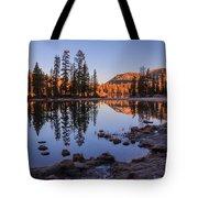 Mirror Lake Dawn Tote Bag