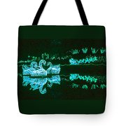Mirror Lake Reflections In Teal Tote Bag