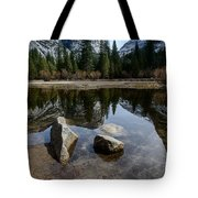 Mirror Lake Threesome 3 Yosemite Tote Bag