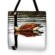 Mirrored Goose Tote Bag