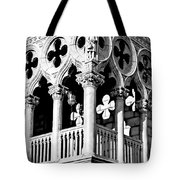Mirrored Shadows Tote Bag