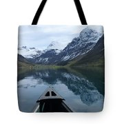 Mirrored Voyage Tote Bag