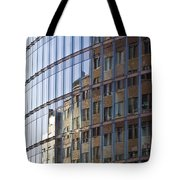 Mirroring On Vitreous Front Tote Bag
