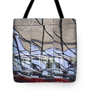 Mirroring On Vitreous Wall Tote Bag