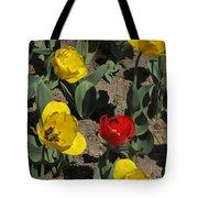 Misplaced Tulip   #0934 Tote Bag