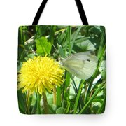 Miss Busy Butterfly Tote Bag