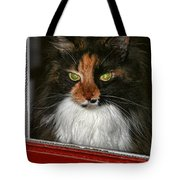 Miss Gizzie Waits By Diana Sainz Tote Bag