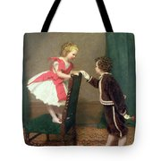 Miss Lilys First Flirtation Tote Bag