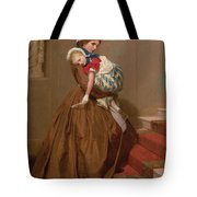 Miss Lilys Return From The Ball, 1866 Tote Bag
