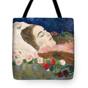 Miss Ria Munk On Her Deathbed Tote Bag
