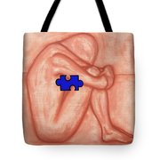 Missing Piece 1 Tote Bag