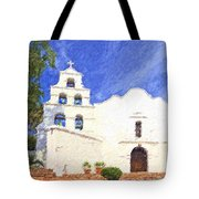 Mission Basilica San Diego De Alcala Usa Tote Bag