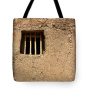 Mission Church Window Tote Bag