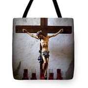 Mission Concepcion - Crucifixion Tote Bag