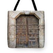 Mission Concepcion Door  Tote Bag