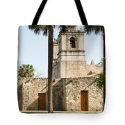 Mission Concepcion In San Antonio Tote Bag