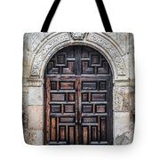 Mission Doors Tote Bag