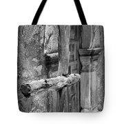 Mission Espada - Wooden Cross - Bw Tote Bag