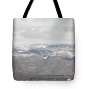 Mission In Winter Tote Bag