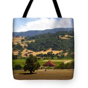 Mission Meadows Solvang California Tote Bag