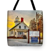Mission Point Michigan Tote Bag