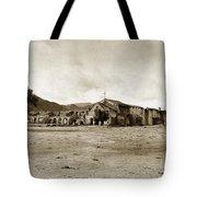 Mission San Antonio De Padua California Circa 1903 Tote Bag