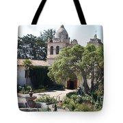 Mission San Carlos Borromeo Del Rio Carmelo Tote Bag