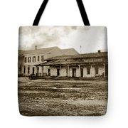 Mission San Francisco De Asis Mission Dolores And Mission House Calif. 1880 Tote Bag